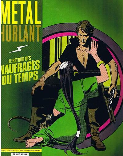 Cover for Métal Hurlant (Les Humanoïdes Associés, 1975 series) #57