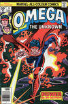 Cover for Omega the Unknown (Marvel, 1976 series) #5 [British]