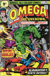 Cover for Omega the Unknown (Marvel, 1976 series) #2 [British]