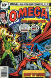 Cover for Omega the Unknown (Marvel, 1976 series) #3 [British]
