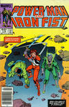 Cover for Power Man and Iron Fist (Marvel, 1981 series) #118 [newsstand]