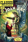 Cover for Classics Illustrated (Gilberton, 1947 series) #78 [HRN 87] - Joan of Arc [15¢]