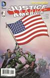 Cover for Justice League of America (DC, 2013 series) #1 [Direct Sales]