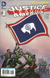 Cover Thumbnail for Justice League of America (2013 series) #1 [Wyoming Flag Cover]