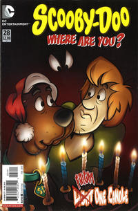 Cover Thumbnail for Scooby-Doo, Where Are You? (DC, 2010 series) #28 [Direct]
