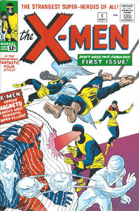 Cover Thumbnail for The X-Men Omnibus (Marvel, 2009 series) #1 [Jack Kirby Cover]