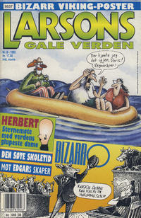 Cover Thumbnail for Larsons gale verden (Bladkompaniet, 1992 series) #8/1995