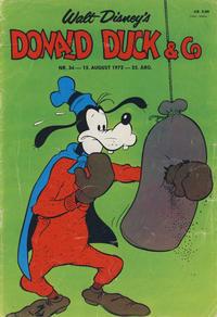 Cover Thumbnail for Donald Duck & Co (Hjemmet / Egmont, 1948 series) #34/1972