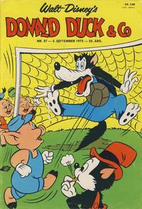 Cover Thumbnail for Donald Duck & Co (Hjemmet / Egmont, 1948 series) #37/1972