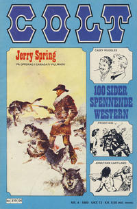 Cover Thumbnail for Colt (Semic, 1978 series) #4/1980