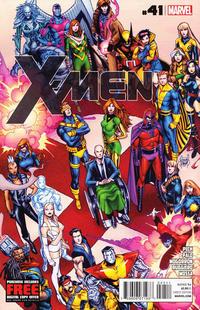Cover Thumbnail for X-Men (Marvel, 2010 series) #41