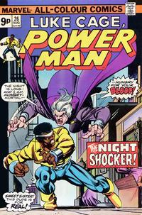 Cover Thumbnail for Power Man (Marvel, 1974 series) #26 [British]