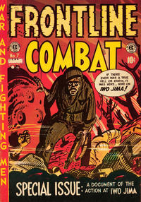 Cover Thumbnail for Frontline Combat (Superior Publishers Limited, 1951 series) #7