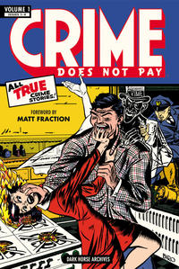 Cover Thumbnail for Crime Does Not Pay Archives (Dark Horse, 2012 series) #1