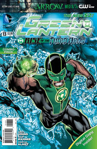 Cover Thumbnail for Green Lantern (DC, 2011 series) #13 [Combo-Pack]