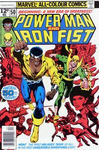 Cover Thumbnail for Power Man (Marvel, 1974 series) #50 [British Price Variant]