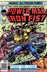 Cover Thumbnail for Power Man (Marvel, 1974 series) #52 [British price variant.]