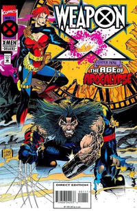 Cover Thumbnail for Weapon X (Marvel, 1995 series) #1 [Direct Edition]