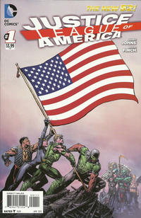 Cover Thumbnail for Justice League of America (DC, 2013 series) #1 [Direct Sales]