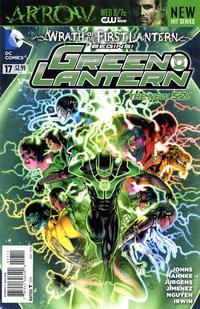 Cover Thumbnail for Green Lantern (DC, 2011 series) #17