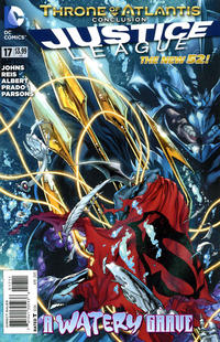 Cover Thumbnail for Justice League (DC, 2011 series) #17