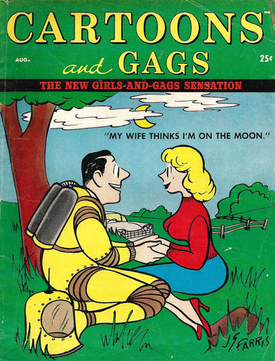 Cover for Cartoons and Gags (Marvel, 1959 series) #v3#4