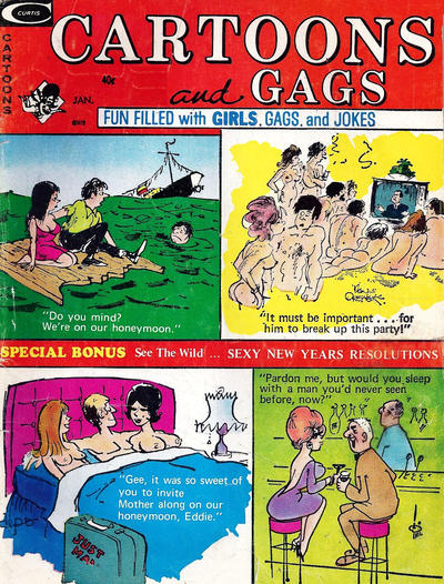 Cover for Cartoons and Gags (Marvel, 1959 series) #v20#1