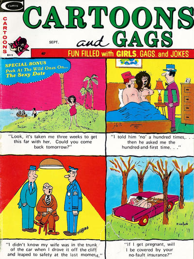 Cover for Cartoons and Gags (Marvel, 1959 series) #v21#7