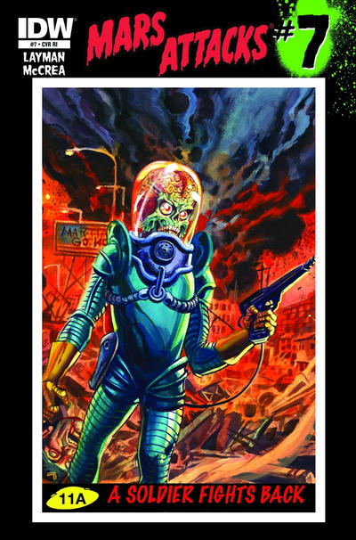 Cover for Mars Attacks (IDW, 2012 series) #7 [Regular Cover]