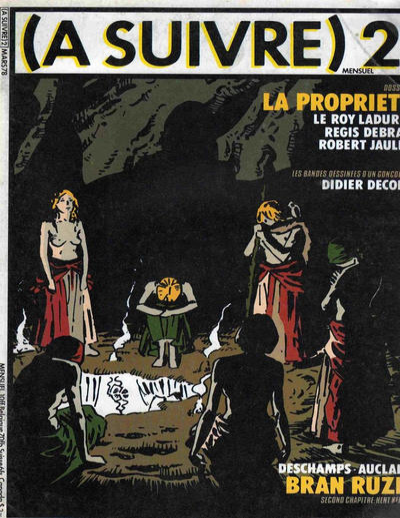 Cover for À Suivre [(À Suivre)] (Casterman, 1977 series) #2