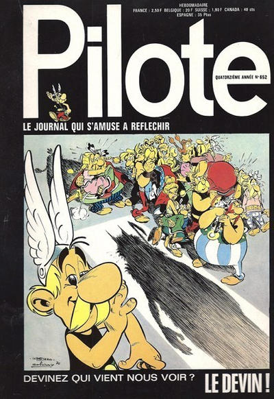 Cover for Pilote (Dargaud, 1960 series) #652