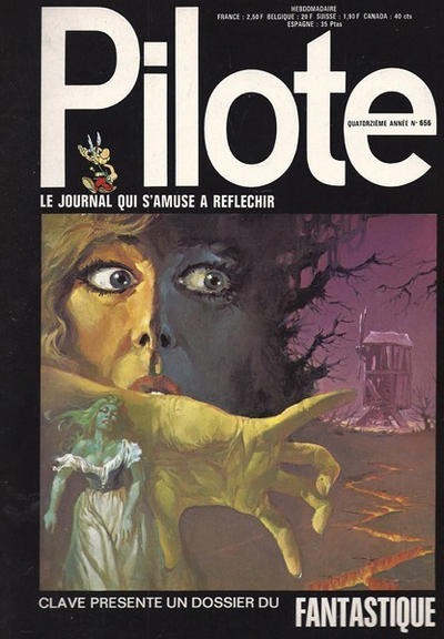 Cover for Pilote (Dargaud, 1960 series) #656