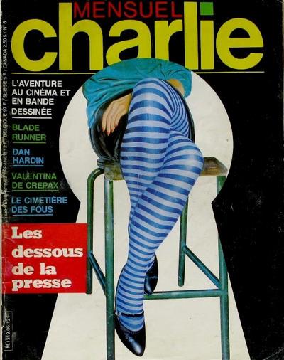 Cover for Charlie Mensuel (Dargaud éditions, 1982 series) #6