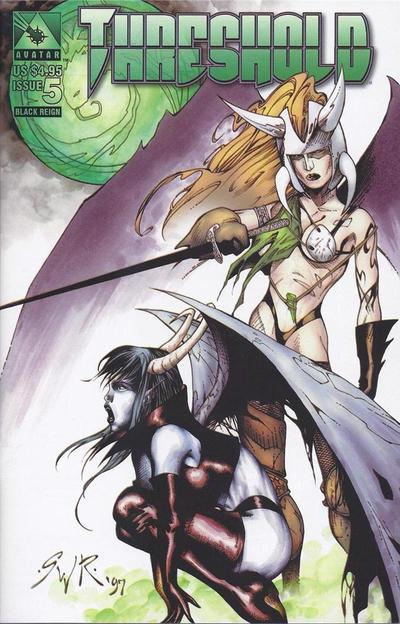 Cover for Threshold (Avatar Press, 1998 series) #5 [Journeymen]
