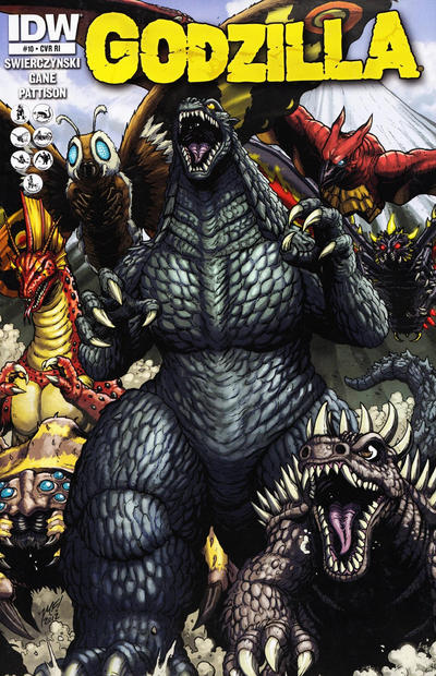 Cover for Godzilla (IDW, 2012 series) #10 [Retailer incentive]