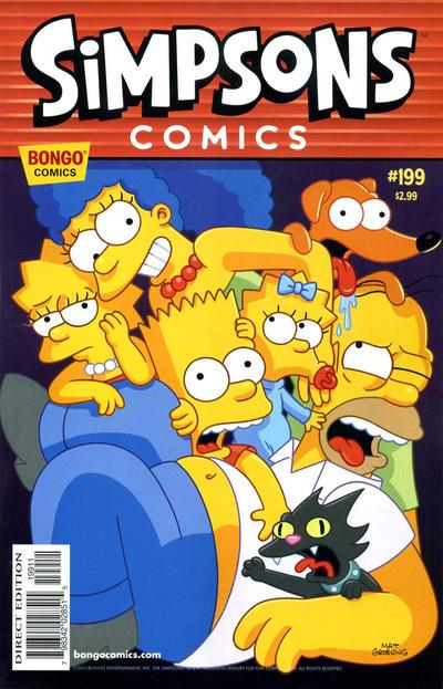 Cover for Simpsons Comics (Bongo, 1993 series) #199