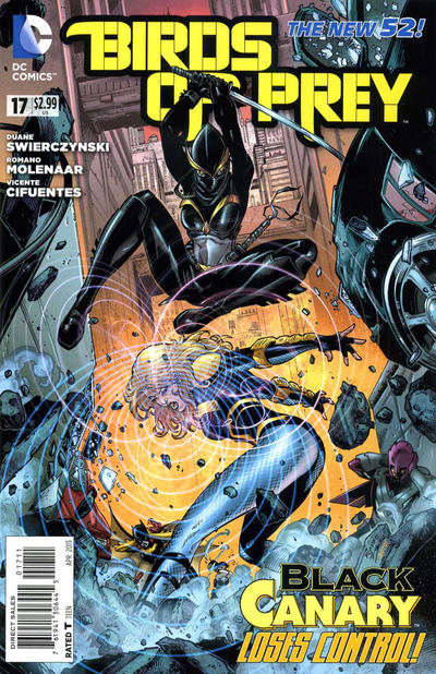 Cover for Birds of Prey (DC, 2011 series) #17