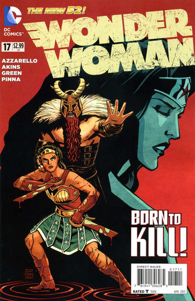 Cover for Wonder Woman (DC, 2011 series) #17