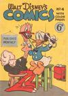 Cover for Walt Disney's Comics (W. G. Publications; Wogan Publications, 1946 series) #4