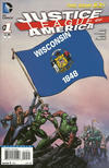 Cover Thumbnail for Justice League of America (2013 series) #1 [Wisconsin Flag Cover]