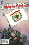 Cover Thumbnail for Justice League of America (2013 series) #1 [West Virginia Flag Cover]