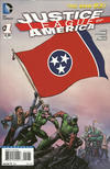 Cover for Justice League of America (DC, 2013 series) #1 [Tennessee Flag Cover]