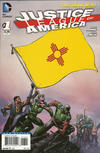 Cover for Justice League of America (DC, 2013 series) #1 [New Mexico Flag Cover]