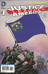 Cover for Justice League of America (DC, 2013 series) #1 [Nevada Flag Cover]