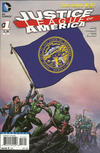 Cover for Justice League of America (DC, 2013 series) #1 [Nebraska Flag Cover]