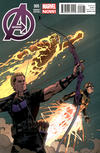 Cover Thumbnail for Avengers (2013 series) #5 [Variant Cover by Paolo Rivera]