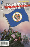 Cover for Justice League of America (DC, 2013 series) #1 [Minnesota Flag Cover]