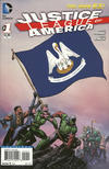 Cover for Justice League of America (DC, 2013 series) #1 [Louisiana Flag Cover]