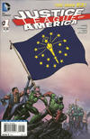 Cover for Justice League of America (DC, 2013 series) #1 [Indiana Flag Cover]