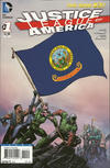 Cover for Justice League of America (DC, 2013 series) #1 [Idaho Flag Cover]